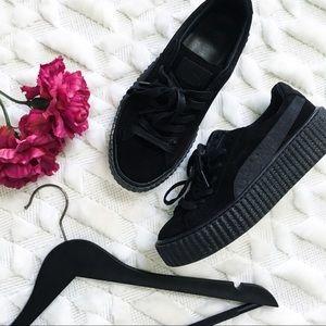 Puma Zapatillas De Deporte X Rihanna Fenty Enredadera En Negro BvKzaKBNn
